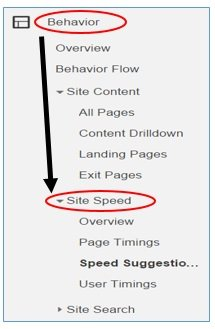 site speed report2