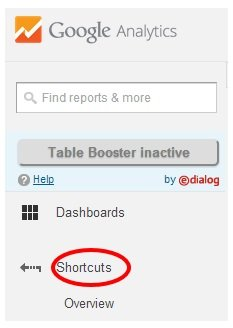 google analytics shortcuts 3