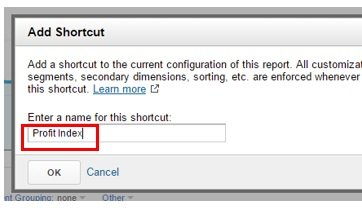add shortcut