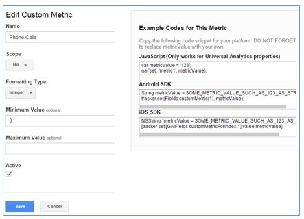 example code custom metric2