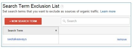 search terms exclusion list2