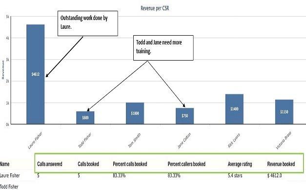 revenue per csr