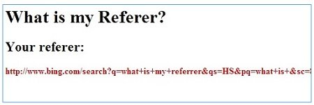 what is my referer 1