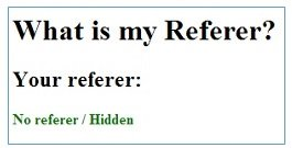 what is my referer 2
