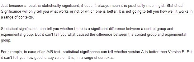 Statistical significance 2
