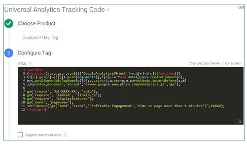 custom html tag