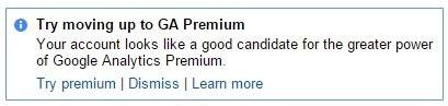 try moving up to GA premium