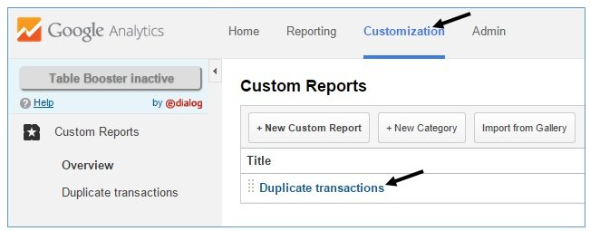 fixing duplicate cancelled test orders refunds google analytics