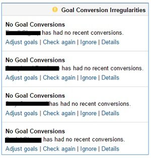 Goal conversion irregularities2