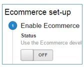 disable ecommerce