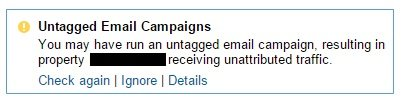 untagged email campaigns