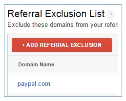 paypal referral exclusion list