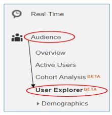 user explorer beta