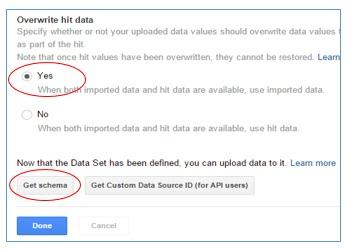 overwrite hit data