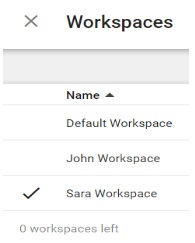 3 workspaces