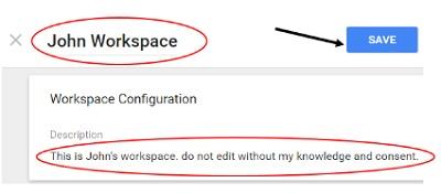 john workspace