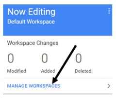 Custom Google Tag Manager Workspaces