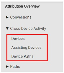 cross device activity reports