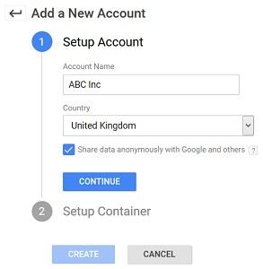 add a new account