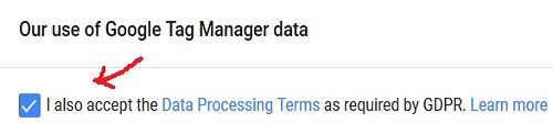 i accept data processing terms