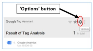 options button
