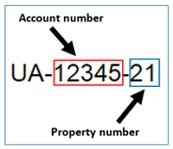 account property number