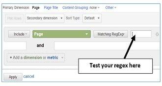 test regex