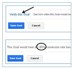 verify the goal