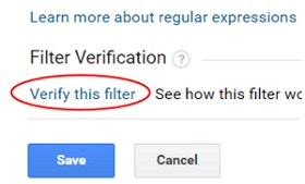 verify this filter