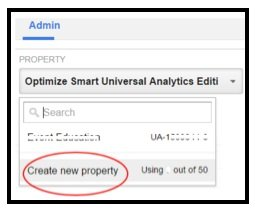 create new property