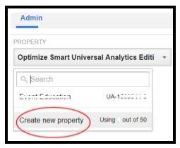 create new property