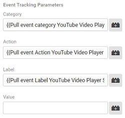 event tracking parameters