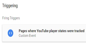 YouTube video tracking via Google Tag Manager