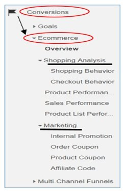 access enhanced ecommerce