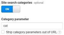 category parameter