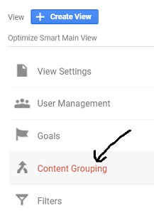 content grouping 1