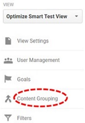 content grouping link 1