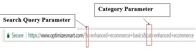 query category parameter