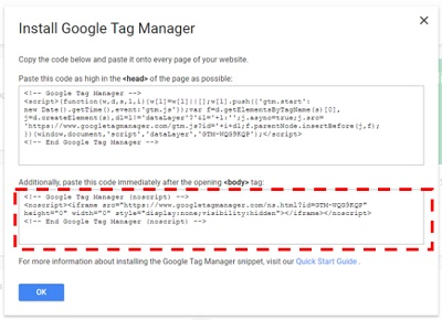 How to correctly install Google Tag Manager on your
