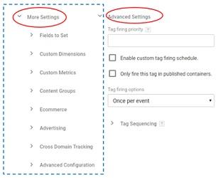 universal analytics settings2