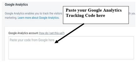 Google Analytics Shopify Tracking