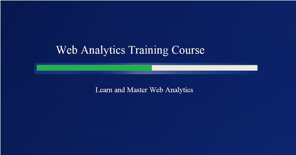 Web Analytics Training Course From Optimizesmart