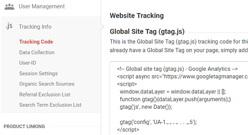 Introduction to gtag js - The Google Global Site Tag