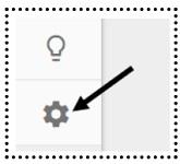 admin button google analytics