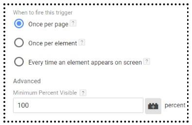 element visibility trigger2