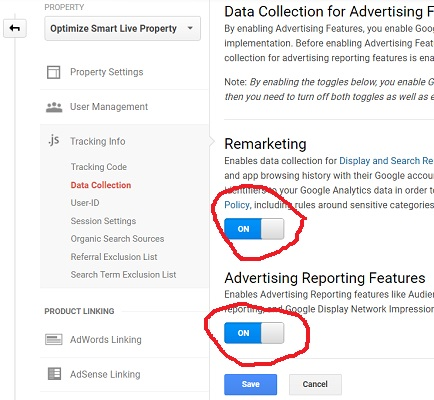 advertising reporting features