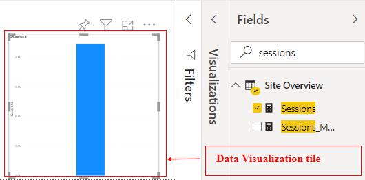 data visualization tile