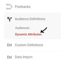 dynamic attributes