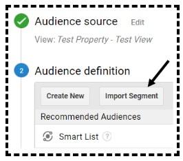 import segment button
