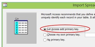 let access add